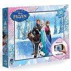 Puzzle interattivo Frozen 30 pezzi