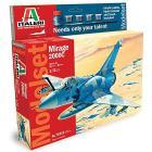 Aereo  Mirage 2000c (Kit, colori, colla, pennello)