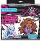 Monster High set da disegno Make-Up Sketch Portafolio (FA64025)