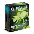 Jurassic Night Triceratopo Scheletro