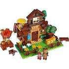 Masha Costruzioni  casa dell'Orso con due personaggi inclusi