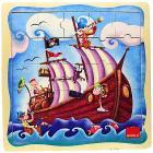 Puzzle 25 pezzi Nave Pirata