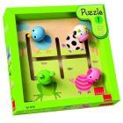 Puzzle labirinto - Animali