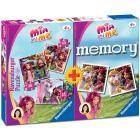 Memory + 3 puzzle Mia & Me