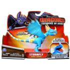Stormfly Blu attacco con fiamme luminose – Action Dragons