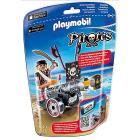 Pirata con App cannon nero (6165)