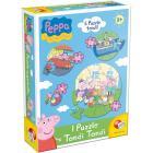 Peppa Pig puzzle tondo tondo (41817)