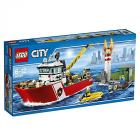 Lego City Fire 60109 - Motobarca antincendio