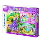 Princess Puzzle 3x48 pezzi (25189)