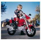 Moto Ducati Monster 12V.