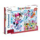 Minnie Sport Puzzle 3 X 48 Pezzi (25198)