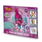 Trolls Make Up Artist Book, Set Trucchi con Ombretti e Lucidalabbra (TRL07000)