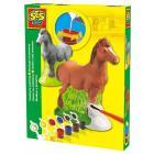 Plaster Casting Horse