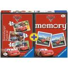 Memory + 3 puzzle Cars 2