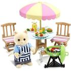 Set barbecue giardino (1 personaggio incluso) (2239)