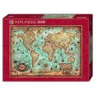 Puzzle 3000 Pezzi - Il Mondo