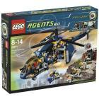 LEGO Agents - Elicottero e unità antiaerea (8971)