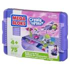 Mega Bloks Build-n-Go Pad Ragazza 75 pezzi (0298)