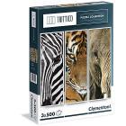 Animals Trittico 3 x 500 pezzi (39307)
