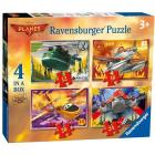Planes 2 4 puzzle in 1