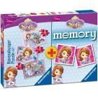 Memory + 3 puzzle Sofia la principessa