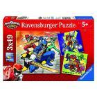 Puzzle Power Rangers 3 X 49 (09393)