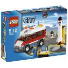 LEGO City - Piattaforma di lancio satellitare (3366)
