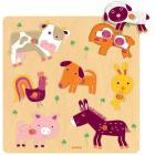 Puzzle legno Woof and Friends (DJ01433)