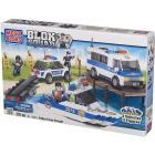 Polizia in assetto da inseguimento
