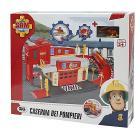 Sam Il Pompiere Caserma dei Pompieri con Rampa e Pista di Atterraggio (NCR18273)