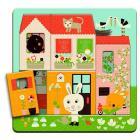 3 layers puzzle - Cottage dei conigli