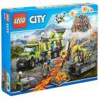 Base delle esplorazioni vulcanica - Lego City Volcano Explorers (60124)