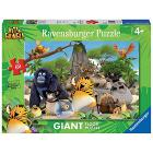 Puzzle Vita da giungla - I coraggiosi eroi della giungla (05496)
