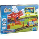 Pista Treno con locomotiva (GG51503)