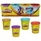 Play-Doh Pasta da Modellare Confezione da 4 Vasetti (22114)
