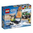 Pick up 4x4 con catamarano - Lego City (60149)