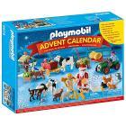 Calendario Avvento Natale nella fattoria Playmobil (6624)