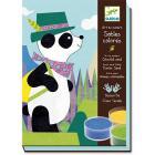 Panda e amici - sabbia colorata