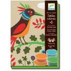 Uccelli del paradiso  - sabbia colorata