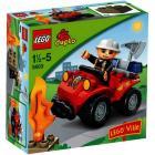 LEGO Duplo - Quad del capo dei pompieri (5603)