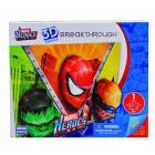 Puzzle 3D Eroi Marvel