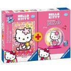 Hello Kitty Puzzle 100 pezzi + mini puzzleball 54 pezzi (10692)