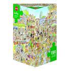 Puzzle 1000 Pezzi Triangolare - Carnevale a Rio