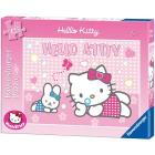 Hello Kitty fa le bolle di sapone