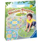 Fiori e farfalle - Outdoor Mandala (29778)