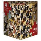 Puzzle 1000 Pezzi Triangolare - Bianco o Nero