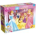 Puzzle Double Face Supermaxi 60 Princess