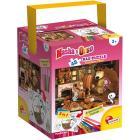 Puzzle + Color Fustino Maxi 48 Masha E Orso in casa