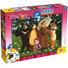 Puzzle Double Face plus 108 Masha e orso