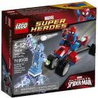 Moto-ragno vs Electro - Lego Super Heroes (76014)